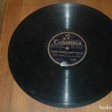 Discos de pizarra: DISCO PIZARRA .... VIELLE CHANSON ESPAGNOLE ...CAZONE VESUVIANA CHASON NAPOLITANE. Lote 112142119