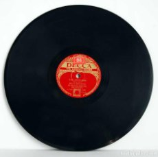 Discos de pizarra: MILLS BROTHERS SY OLIVER AND HIS ORCHESTRA - SHE WAS FIVE AND HE WAS TEN / THE JONES BOY. PIZARRA. Lote 112363383
