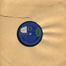 Dischi in gommalacca: ORQUESTA PARLOPHON / POR SEVILLANAS / DESENCANTO (RUMBA) PARLOPON B. 26.783. Lote 112798271