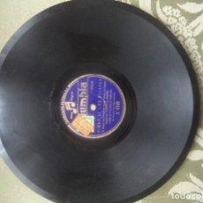 Discos de pizarra: ORIAMENDI E HIMNO DE LOS PELAYOS. Lote 113048851