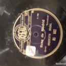 Discos de pizarra: ROSA DE MADRID DISCO DE PIZARRA. Lote 114085755