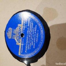 Discos de pizarra: DISCO DE PIZARRA NIÑA DE LA PUEBLA. Lote 114382331