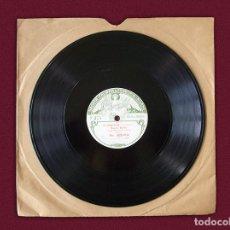 """Discos de pizarra: DISCO PARA GRAMÓFONO – """"IL PROFETA ( MEYERBEER ) – LOHENGRIN ( WAGNER ). Lote 114788759"""