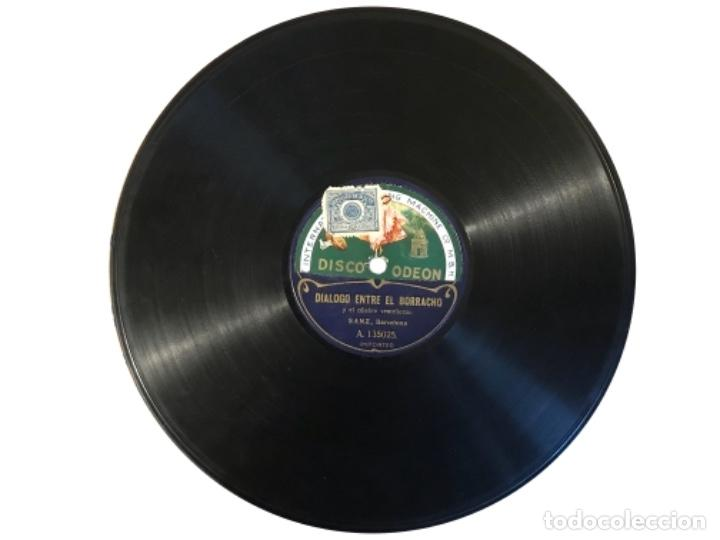 DIALOGO ENTRE EL BORRACHO Y EL CÉLEBRE VENTRILOCUO, SANZ, BARCELONA, ESCENA DEL AUTÓMATA PEPITO (Música - Discos - Pizarra - Otros estilos)