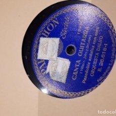 Discos de pizarra: DISCO DE PIZARRA PARLOPHON. Lote 115101451