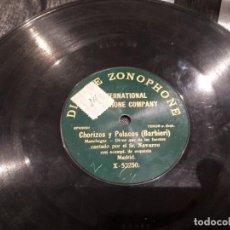 Discos de pizarra: DISCO DE PIZARRA S.R NAVARRO. Lote 115199331