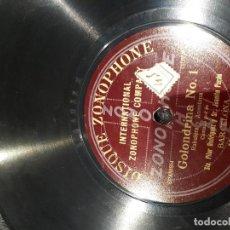 Discos de pizarra: DISCO ZONOPHONE JUANITO PARDO. Lote 115199707