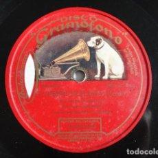 Discos de pizarra: JOSÉ MARDONES - I VESPRI SICILIANI, O TU PALERMO E SANTO AMOR (VERDI) DISCO GRAMÓFONO: 2-052239. Lote 115200883