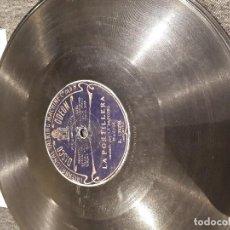 Discos de pizarra: LA PASTORA DE JEREZ DISCO DE PIZARRA. Lote 115209247