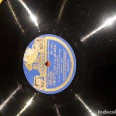 Discos de pizarra: CANCION ASTURIANA DISCO DE PIZARRA. Lote 115223771