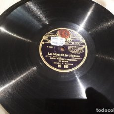 Discos de pizarra: LA CAPA DE LA CIBELES DISCO DE PIZARRA. Lote 115370891