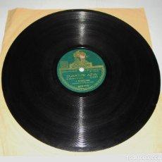 Discos de pizarra: DISCO DE PIZARRA. J. GOSALBEZ. CUARTITO AZUL. NOSTALGIA. . Lote 115564583