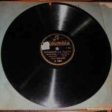 Discos de pizarra: DISCO DE PIZARRA. ORQUESTA AMBOS MUNDOS. SIGAMOS LA FLOTA.. Lote 115716519
