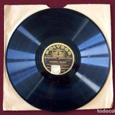 """Discos de pizarra: DISCO PARA GRAMÓFONO – """"NOCTURNES ( NUAGES )'' - CLAUDE DEBUSSY – POLYDOR - 1930. Lote 116090603"""