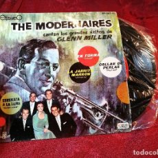 Discos de pizarra: THE MODERNAIRES ( TEMAS GLENN MILLER ) EN FORMA - IN THE MOOD + 3 - EP SPAIN 1961. Lote 116278051