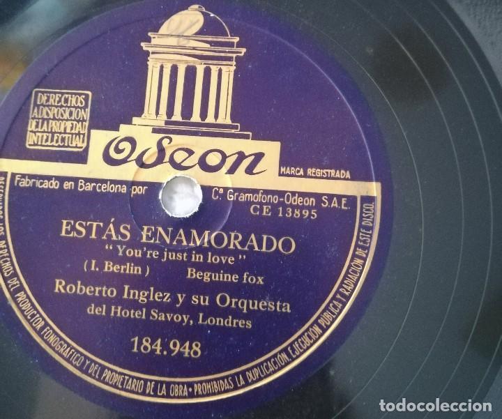 ROBERTO INGLEZ Y SU ORQUESTA (Música - Discos - Pizarra - Solistas Melódicos y Bailables)