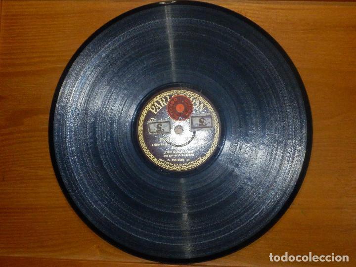 Discos de pizarra: Disco de Pizarra - Tenor Juan García -Acompaña Guitarra Piano -Granadinas, Esperé - Parlophon 26.049 - Foto 4 - 116710447