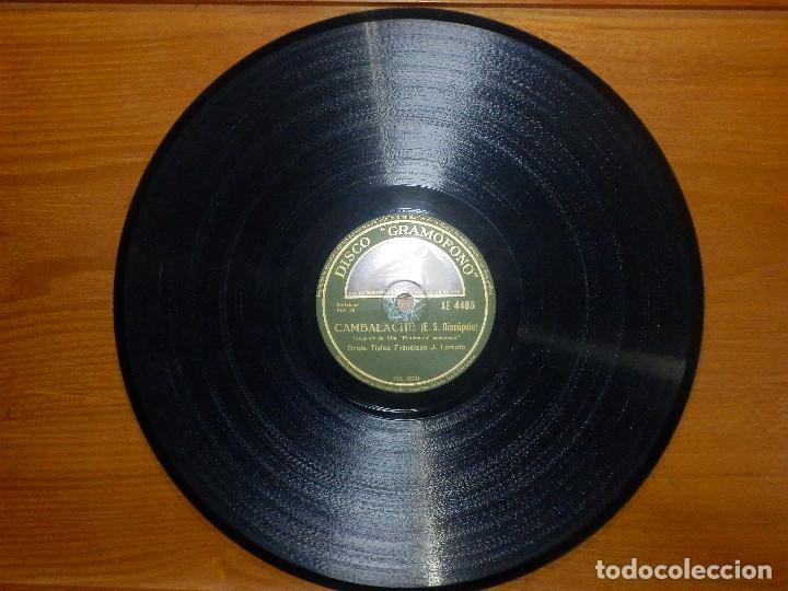 Discos de pizarra: Disco de Pizarra - Banda Sonora El Alma del Bandoneon - Orq. Francisco J Lomuto -Gramófono 86.739 - Foto 3 - 141333950