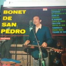 Discos de pizarra: LIQUIDACION BONET DE SAN PEDRO, VERGARA. Lote 116723799