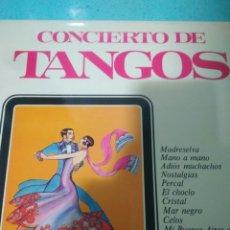 Discos de pizarra: CONCIERTO DE TANGO DISCO VINILO. Lote 116725204