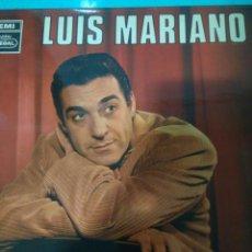 Discos de pizarra: LIQUIDACION LUIS MARIANO AÑOS 70 SERIE AZUL. Lote 116725650