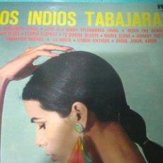 Discos de pizarra: LOS INDIOS TRABAJARAS LP ANTIGUO RCA. Lote 116725962