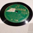 Discos de pizarra: LA ZAPATERITA DISCO DE PIZARRA. Lote 117150363