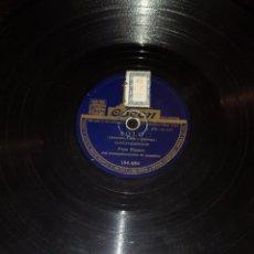 Discos de pizarra: DISCOS 78 RPM - PEPE BLANCO - ORQUESTA - RUMBA TANGUILLO - TANGO - PIZARRA. Lote 117530071
