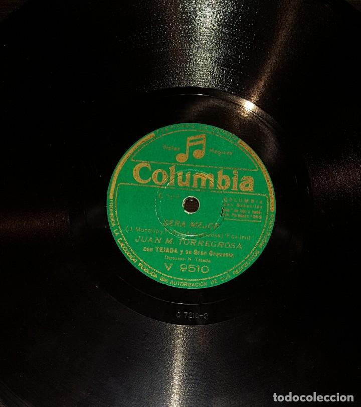 Discos de pizarra: DISCOS 78 RPM - JUAN M. TORREGROSA - TEJADA - GRAN ORQUESTA - PIZARRA - Foto 2 - 117605695