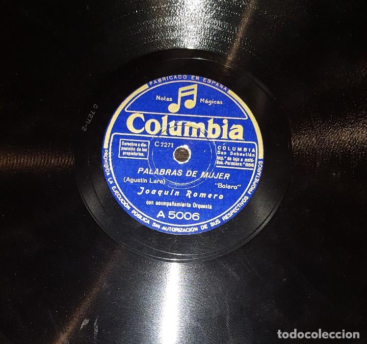 DISCOS 78 RPM - JOAQUÍN ROMERO - PORRO POPULAR COLOMBIANO - EL CAIMÁN - PIZARRA (Música - Discos - Pizarra - Solistas Melódicos y Bailables)