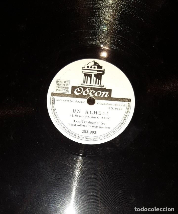 Discos de pizarra: DISCOS 78 RPM - LOS TRASHUMANTES - FANTASÍA HAWAIIANA - SON - PIZARRA - Foto 2 - 117617307