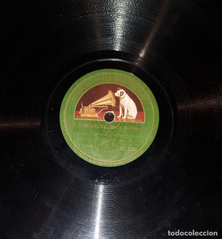 DISCOS 78 RPM - ORQUESTA TÍPICA SPAVENTA - TANGO - MATOS RODRÍGUEZ - PIZARRA (Música - Discos - Pizarra - Solistas Melódicos y Bailables)