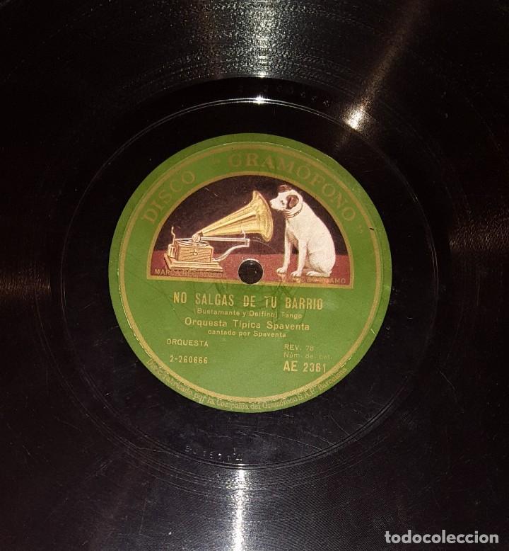 Discos de pizarra: DISCOS 78 RPM - ORQUESTA TÍPICA SPAVENTA - TANGO - MATOS RODRÍGUEZ - PIZARRA - Foto 2 - 117621011