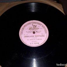 Discos de pizarra: ENRICO CARUSO DISCO DE PIZARRA. Lote 117629055