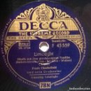 Discos de pizarra: FRANK CHACKSFIELD. LIMELIGHT (TERRY'S THEMA FROM CHARLIE CHAPLIN BSO) DECCA F 43559 GERMANY 1953 10'. Lote 117699219