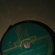 Discos de pizarra: DISCO PIZARRA LA ORQUESTA DE ARTUR KAPS. Lote 117914880