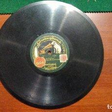 Discos de pizarra: DISCO DE PIZARRA GRAMOPHONE ESTEFANIA Y LILAS ENCARNADAS. BARCELONA. DROGUERIA EL AGUILA VALENCIA. Lote 118943367