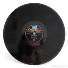 Discos de pizarra: FRANK SINATRA - GOODNIGHT IRENE / MY BLUE HEAVEN. DISCO DE PIZARRA DB 2737. Lote 118981275