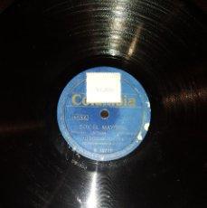Discos de pizarra: DISCOS 78 RPM - MERCEDES MOLINA - SERRANA - BOLERO CON MALAGUEÑA - PIZARRA. Lote 119501127
