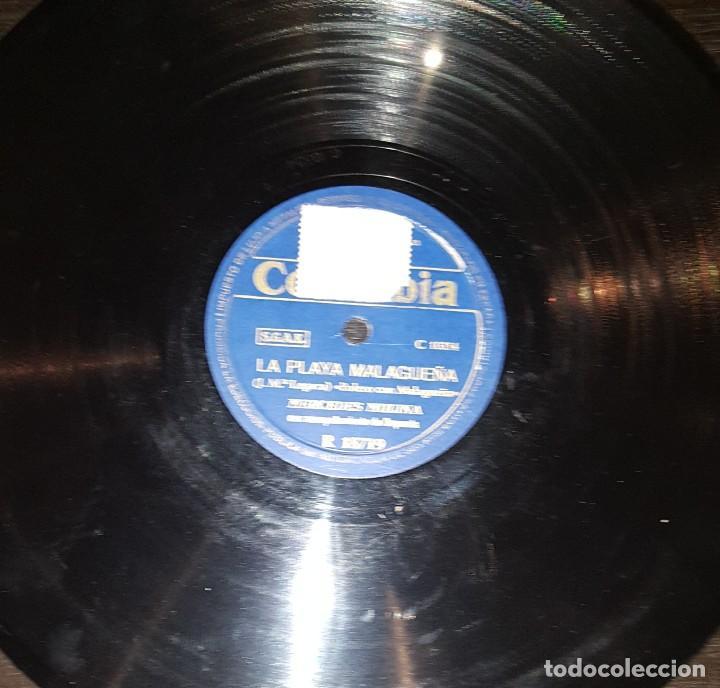 Discos de pizarra: DISCOS 78 RPM - MERCEDES MOLINA - SERRANA - BOLERO CON MALAGUEÑA - PIZARRA - Foto 2 - 119501127