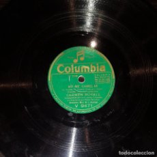 Discos de pizarra: DISCOS 78 RPM - CARMEN MORELL - ORQUESTA - PASODOBLE - ZAMBRA - PIZARRA. Lote 119502047
