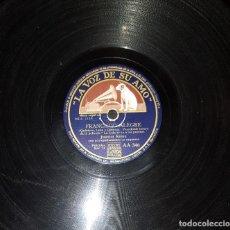 Discos de pizarra: DISCOS 78 RPM - JUANITA REINA - MELCHOR DE MARCHENA - LA LOLA SE VA A LOS PUERTOS - PIZARRA. Lote 119505103