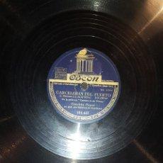 Discos de pizarra: DISCOS 78 RPM - CONCHITA PIQUER - MELCHOR DE MARCHENA - CARMEN LA DE TRIANA - PIZARRA. Lote 119506699