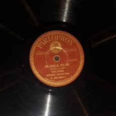 Discos de pizarra: DISCOS 78 RPM - IMPERIO ARGENTINA - BLANCA FLOR - MI CABALLO MURIÓ - TANGO - PIZARRA. Lote 119510915