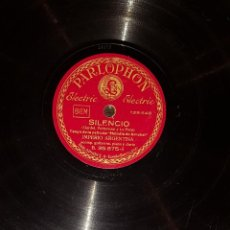 Discos de pizarra: DISCOS 78 RPM - IMPERIO ARGENTINA - GUITARRAS - TANGO - MORUCHA - SILENCIO - PIZARRA. Lote 119511463