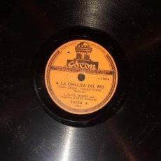 Discos de pizarra: DISCOS 78 RPM - LOLITA TORRES - ORQUESTA - BULERÍAS - COLOMBIANAS - PIZARRA. Lote 119512011