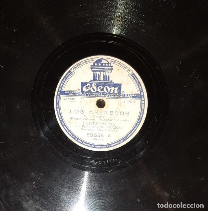DISCOS 78 RPM - LOLITA TORRES - NIÑO POSADAS - GUITARRA - BULERÍAS - JOTA - PIZARRA (Música - Discos - Pizarra - Flamenco, Canción española y Cuplé)