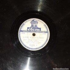 Discos de pizarra: DISCOS 78 RPM - LOLITA TORRES - NIÑO POSADAS - GUITARRA - BULERÍAS - JOTA - PIZARRA. Lote 119516171
