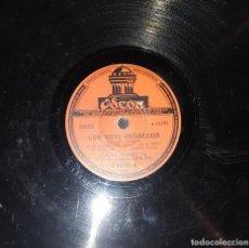 Discos de pizarra: DISCOS 78 RPM - LOLITA TORRES - NIÑO POSADAS - GUITARRA - ESTAMPA CANARIA - ZAMBRA - PIZARRA. Lote 119517491