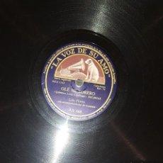 Discos de pizarra: DISCOS 78 RPM - LOLA FLORES - PACO AGUILERA - GUITARRA - BULERÍAS - TANGUILLO - PIZARRA. Lote 119518415